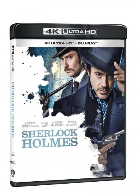 neuveden: Sherlock Holmes 4K Ultra HD + Blu-ray