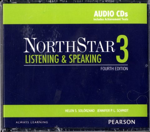 Solorzano Helen S.: NorthStar 4th Edition Listening and Speaking 3 Class Audio CDs