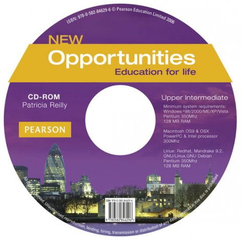 Reilly Patricia: New Opportunities Upper-Intermediate CD-ROM