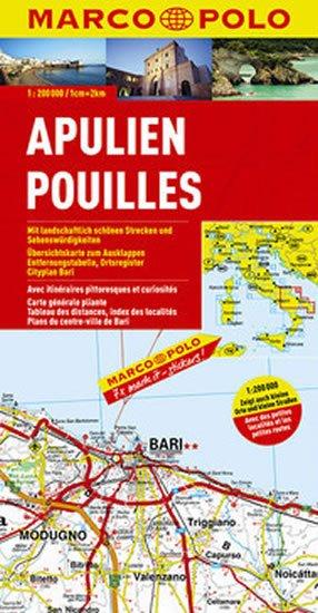 neuveden: Itálie - Apulie/mapa