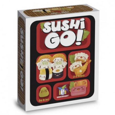 neuveden: Sushi GO - Karetní hra