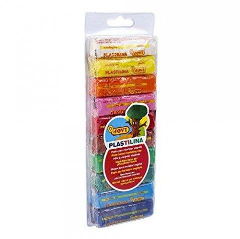 neuveden: plastelína 10x25g, hranolky, blistr