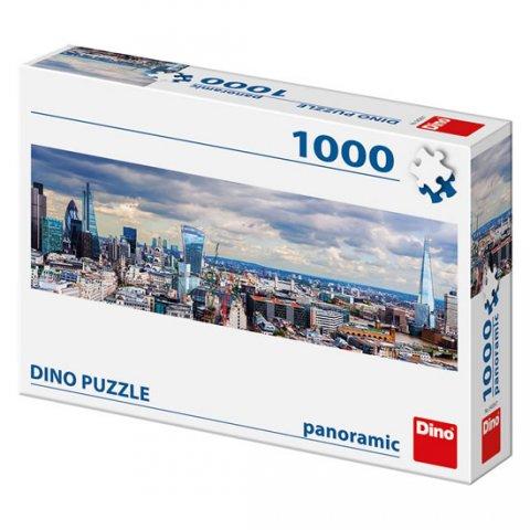 neuveden: Londýn: panoramic puzzle 1000 dílků