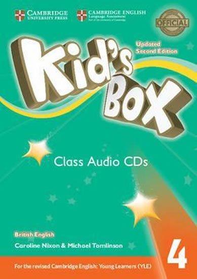 Nixon Caroline: Kid´s Box 4 Class Audio CDs (3) British English,Updated 2nd Edition