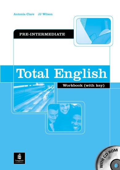 Clare Antonia: Total English Pre-Intermediate Workbook w/ CD-ROM Pack (w/ key)