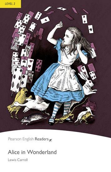 Carroll Lewis: PER | Level 2: Alice in Wonderland Bk/MP3 Pack