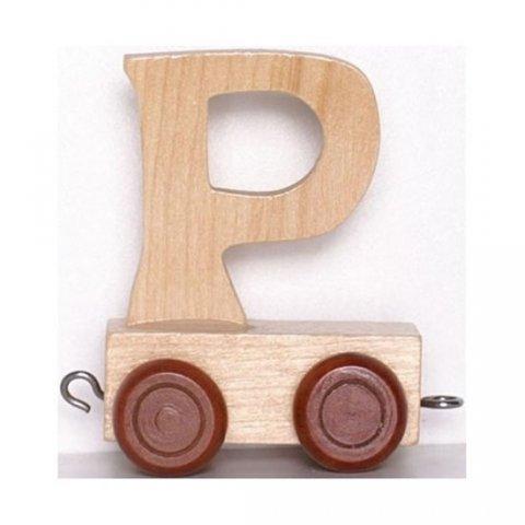 neuveden: Vagónek P - hnědá kolečka