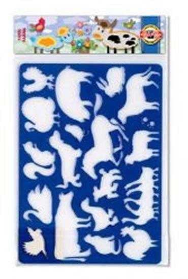neuveden: Koh-i-noor šablona zvířata Farma