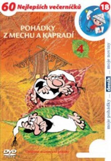 Smetana Zdeněk: Pohádky z mechu a kapradí 4. - DVD