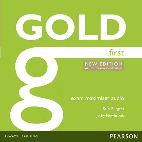 Burgess Sally, Newbrook Jacky: Gold First 2015 Exam Maximiser Class Audio CDs