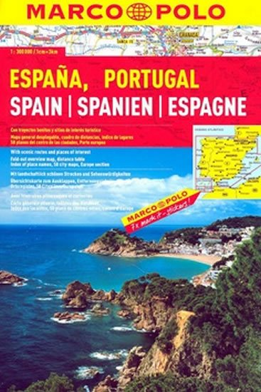 neuveden: Španělsko/Portugalsko/atlas-spirála 1:300T MD