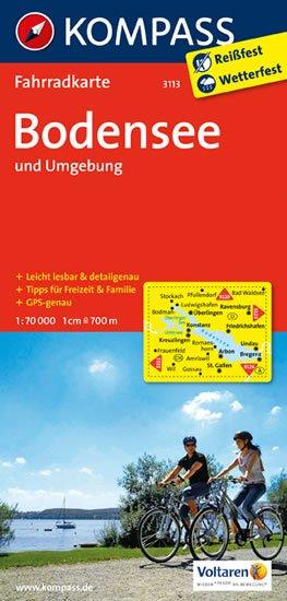 neuveden: Bodensee und Umgebung 3113 / 1:70T KOM