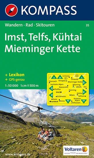 neuveden: Imst,Telfs,Kühtai 35 / 1:50T NKOM