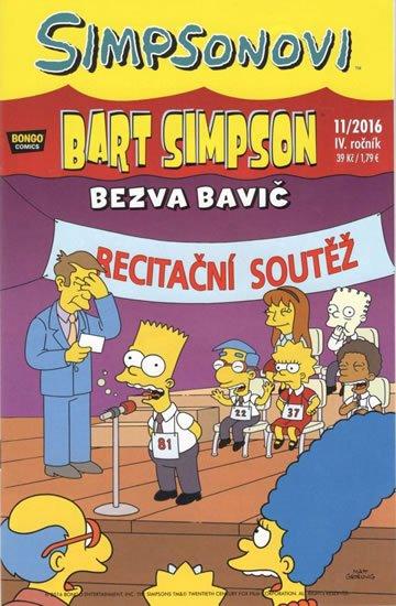 kolektiv autorů: Simpsonovi - Bart Simpson 11/2016 - Bezva bavič
