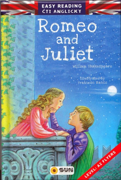 Shakespeare William: Easy reading Romeo and Juliet - úroveň A2