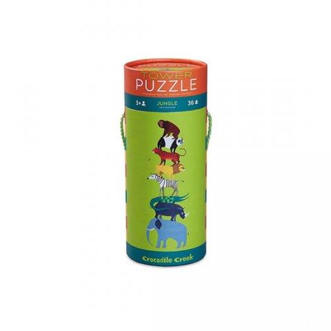 neuveden: Tower Puzzle: Jungle/Džungle (36 dílků)
