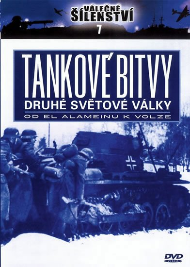 neuveden: Tankové bitvy 2. světové války - DVD