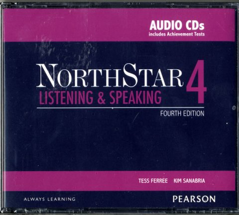Ferree Tess: NorthStar 4th Edition Listening and Speaking 4 Class Audio CDs