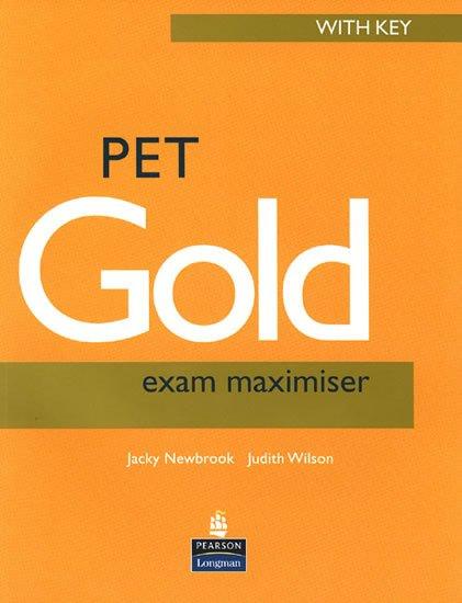 Newbrook Jacky: PET Gold 2004 Exam Maximiser w/ key