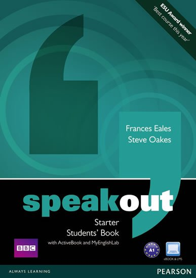 Eales Frances: Speakout Starter Students´ Book w/ DVD/Active Book/MyEnglishLab Pack