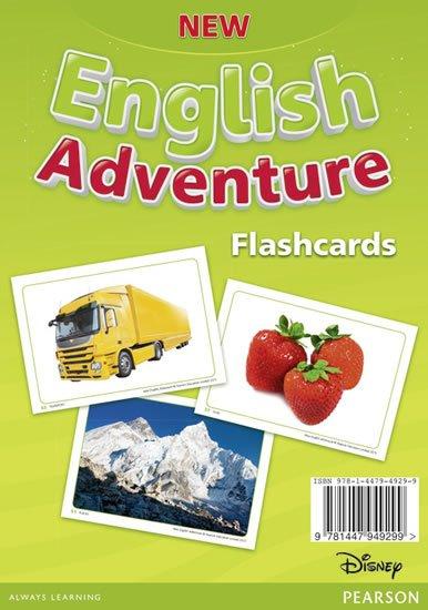 neuveden: New English Adventure 1 Flashcards