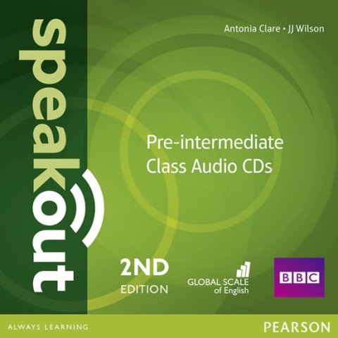 Clare Antonia: Speakout 2nd Edition Pre-Intermediate Class CDs (2)