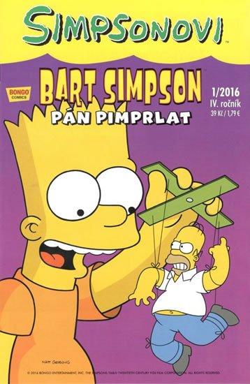 Groening Matt: Simpsonovi - Bart Simpson 1/2016 - Pán pimprlat