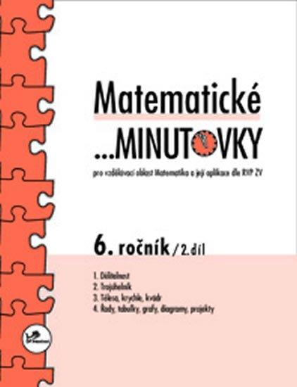 Hricz Miroslav: Matematické minutovky pro 6. ročník/ 2. díl