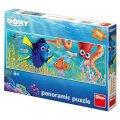 Disney Walt: Veselá Dory - puzzle neon 100 dílků