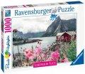 neuveden: Ravensburger Puzzle Skandinávie - Lofoty, Norsko 1000 dílků