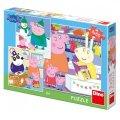 neuveden: Peppa Pig - Veselé odpoledne: puzzle 3x55 dílků