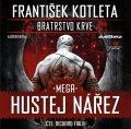 Kotleta František: Mega hustej nářez - Bratrstvo krve 3 - CDmp3 (Čte Richard Fiala)