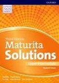 Falla Tim, Davies Paul A.: Maturita Solutions Upper Intermediate Student´s Book 3rd (CZEch Edition)