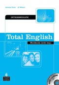 Clare Antonia: Total English Intermediate Workbook w/ CD-ROM Pack (w/ key)