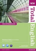 Crace Araminta: New Total English Pre-Intermediate Students´ Book w/ Active Book Pack