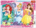 neuveden: Puzzle: Kouzelné princezny 25 dílků