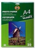 neuveden: Koh-i-noor foto papír A4 lesklý 200g  20 ks