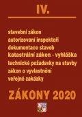 neuveden: Zákony IV 2020 – Stavební řízení - Úplná znění po novelách k 1. 1. 2020