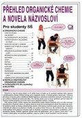 Pečová Danuše: Přehled organické chemie a novela názvosloví - Pro studenty SŠ