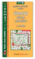 neuveden: Šumava - Kvilda, Churáňov - cykloturistická mapa č. 1 /1:55 000