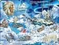 neuveden: Puzzle MAXI - Dobývání Severního pólu/65 dílků