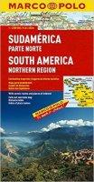 neuveden: Jižní Amerika - sever/mapa