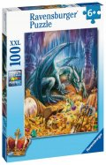 neuveden: Ravensburger Puzzle - Dračí poklad 100 dílků