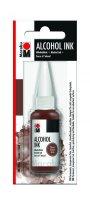 neuveden: Marabu Alkoholový inkoust/hnědý 20 ml