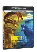 neuveden: Godzilla II Král monster 4K Ultra HD + Blu-ray