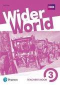 Fricker Rod: Wider World 3 Teacher´s Book w/ MyEnglishLab/Online Extra Homework/DVD-ROM
