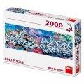 neuveden: Grafitti: panoramic puzzle 2000 dílků