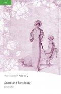 Austenová Jane: PER | Level 3: Sense and Sensibility Bk/MP3 Pack