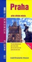 kolektiv: Praha: plán středu města 1:15 000