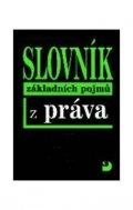 Ryska Radovan: Slovník základních pojmů z práva - 2. vydání